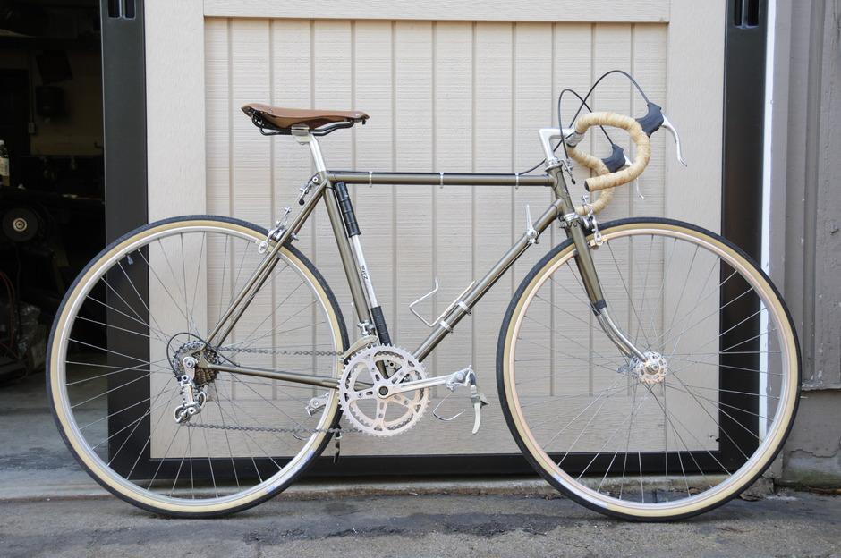 1977 Fuji S10-S - Pedal Room