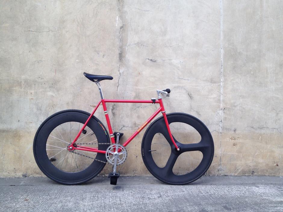 1978-80 3rensho Track Bike Dura Ace NJS - Pedal Room
