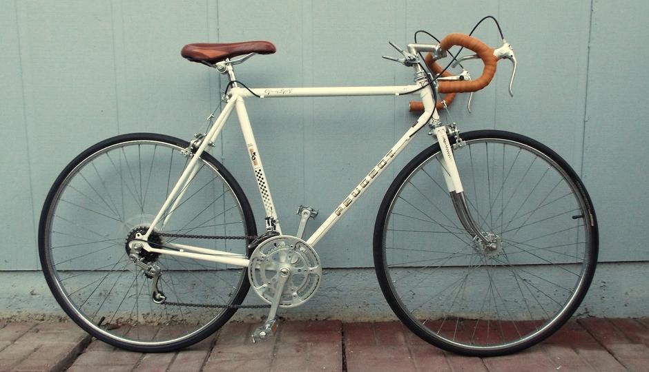 peugeot 1980 uo bike pedal