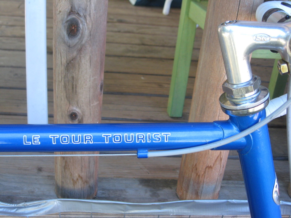 1981 Schwinn Le Tour Tourist Pedal Room