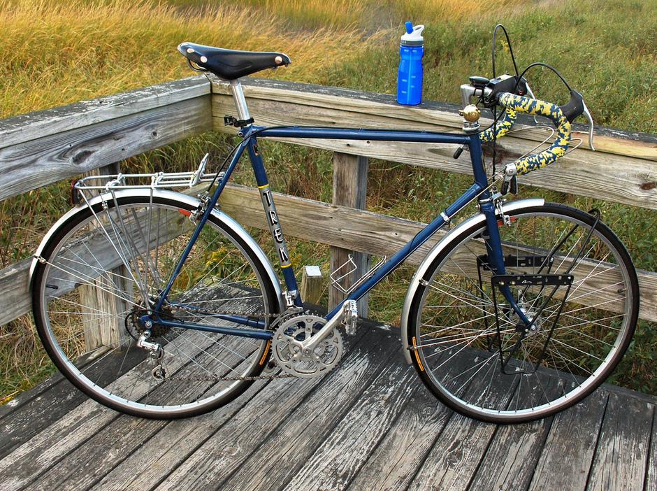 1982 Trek 614 61 Cm Pedal Room