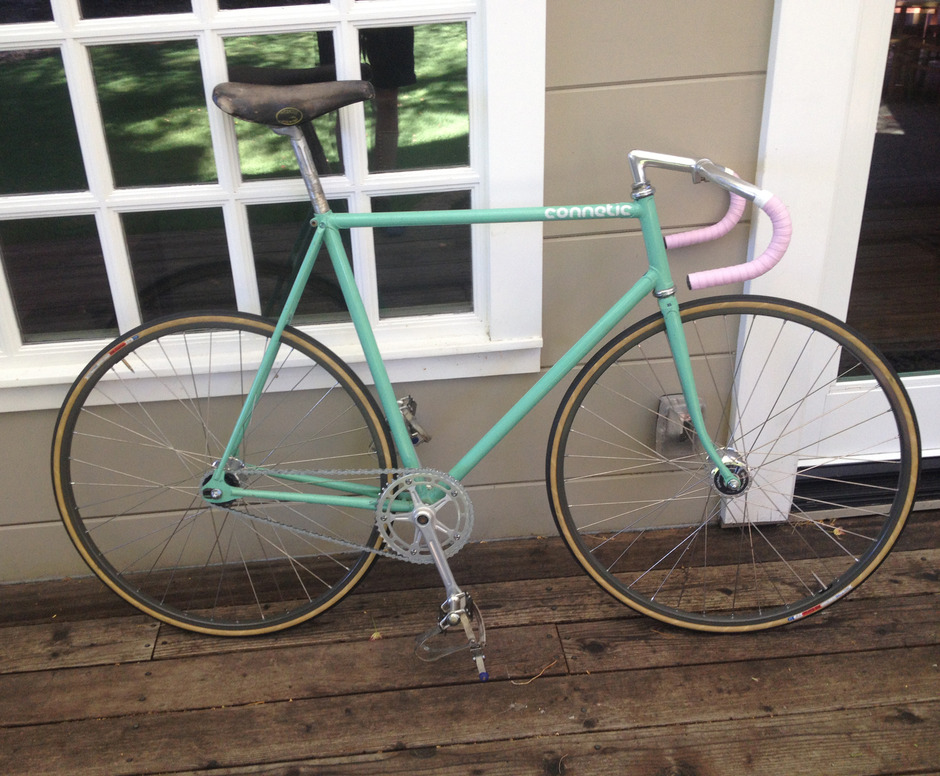 1983 Bianchi Pista Sold Pedal Room