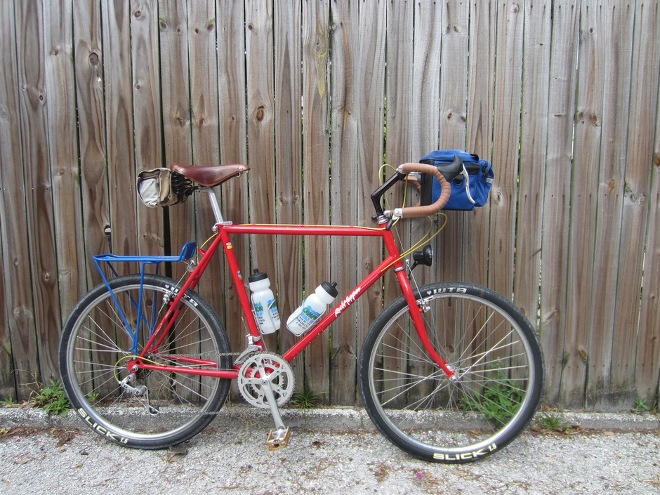1986 Specialized Rockhopper W Drop Bars Pedal Room