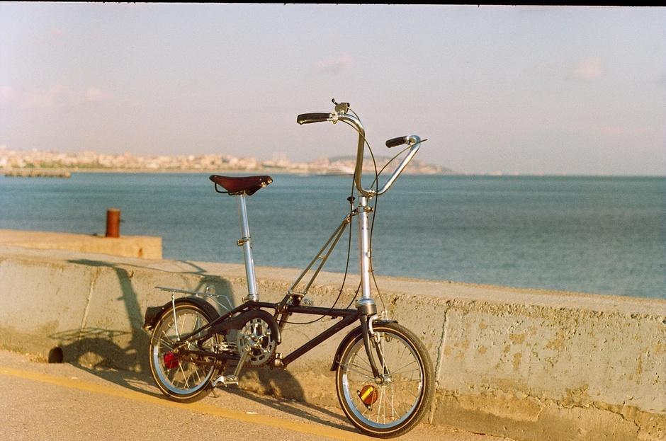 1987 Dahon Iii Folding Bike Pedal Room