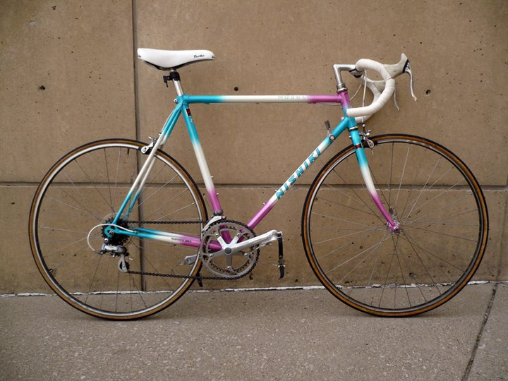 1987 Nishiki Modulus Pedal Room