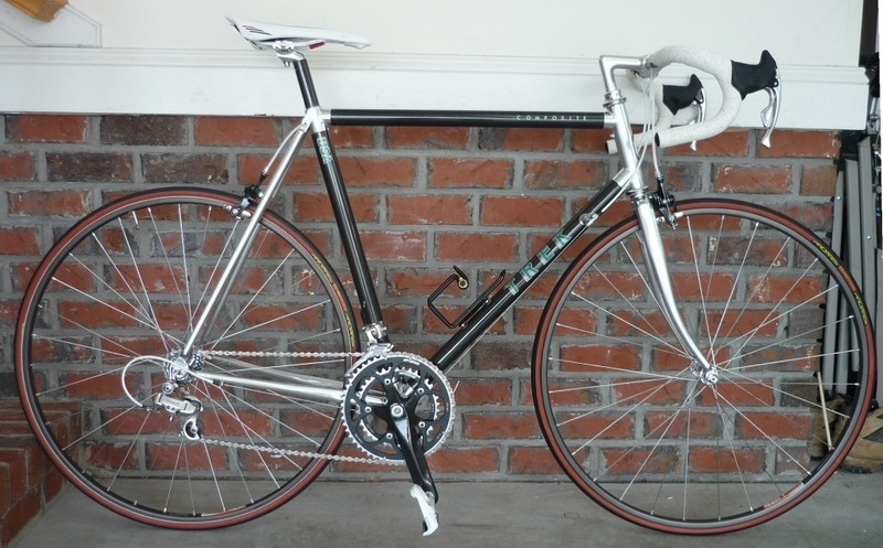1987 Trek Composite 2500 Pedal Room