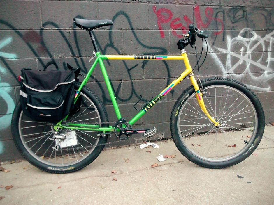 1988 Schwinn Sierra - Pedal Room