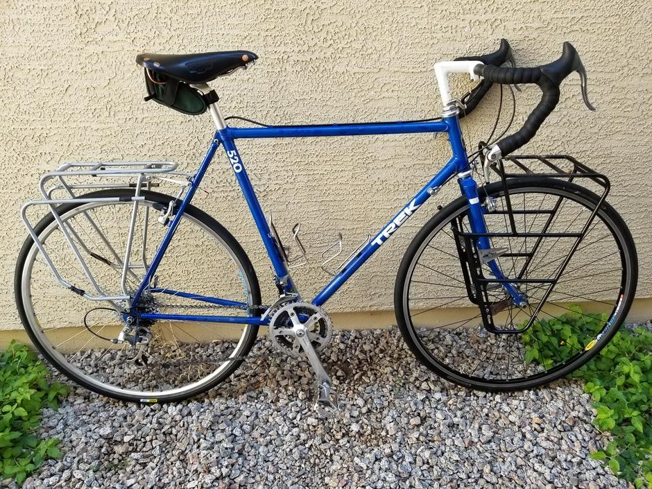 1988 Trek 520 Pedal Room
