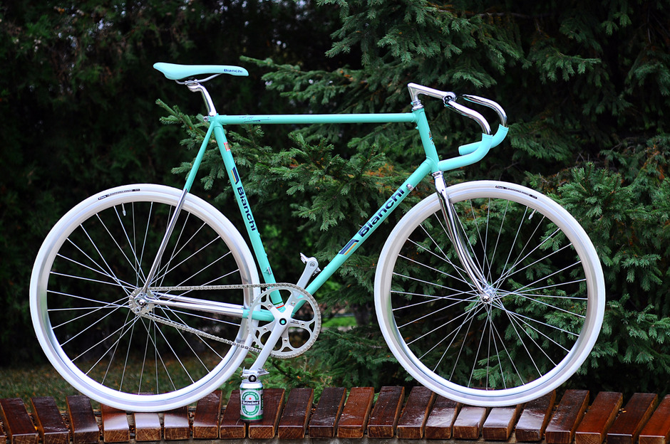 1989 Bianchi Reparto Corse Pedal Room