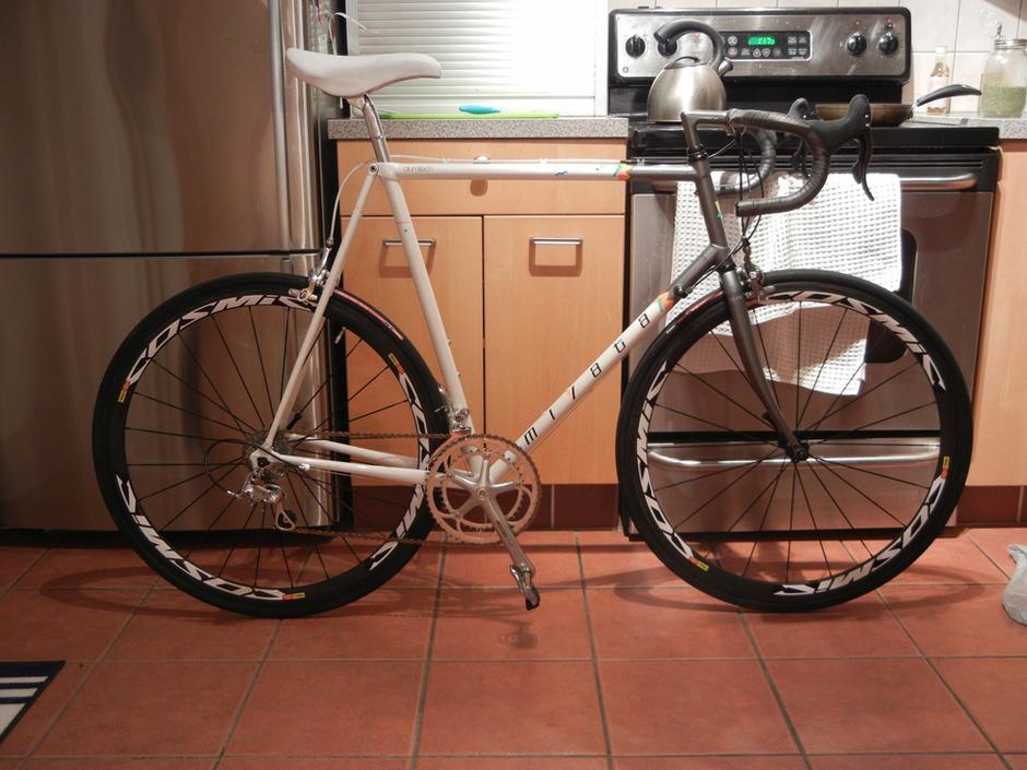 1989 Miyata 1100a FRAME FOR SALE - Pedal Room