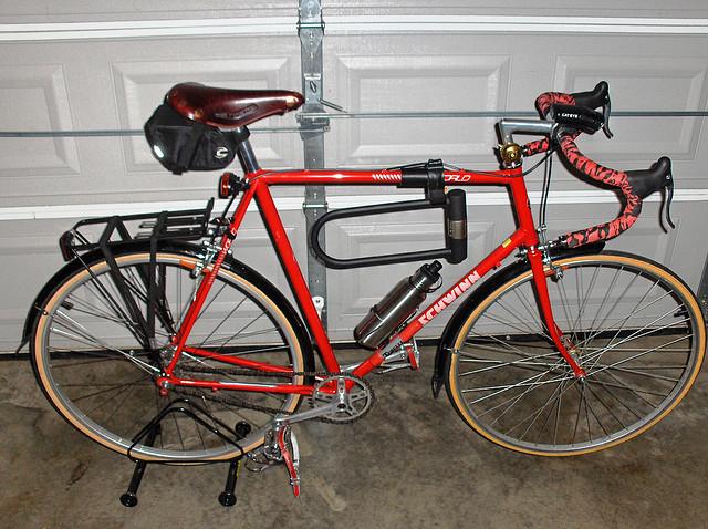 1989 Schwinn World Fixed/Single Speed - Pedal Room