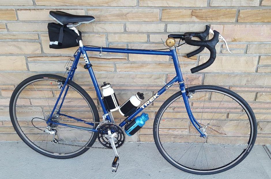1989 Trek 520 Pedal Room