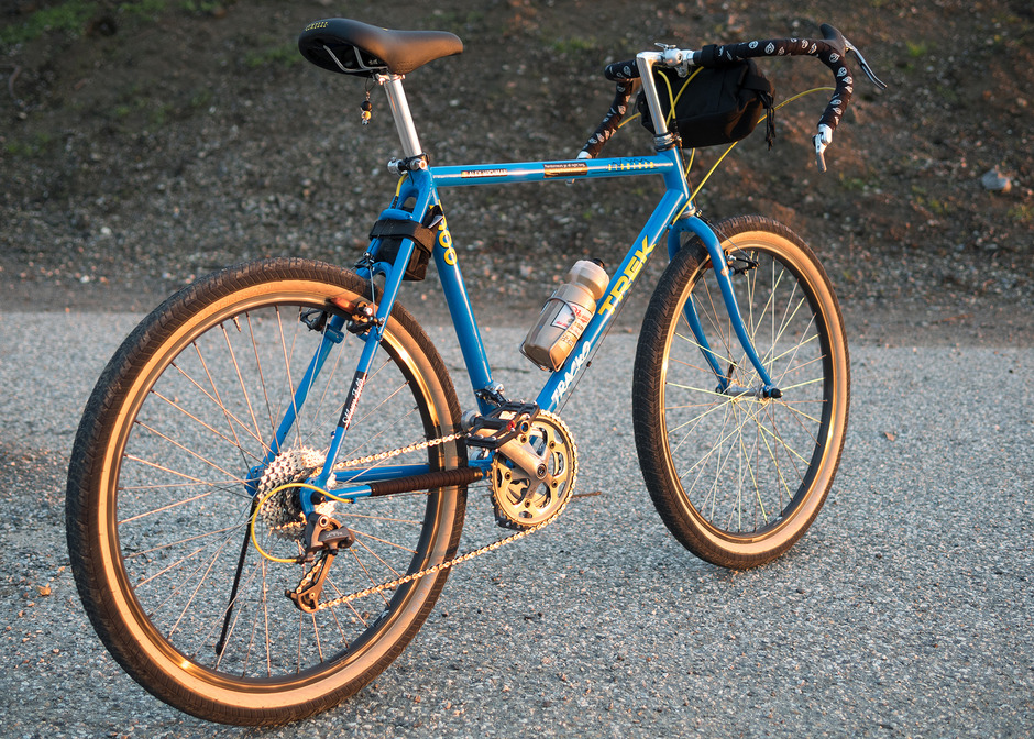 Best One Tire >> 1989 Trek 7000 Dirt-Drop Conversion - Pedal Room