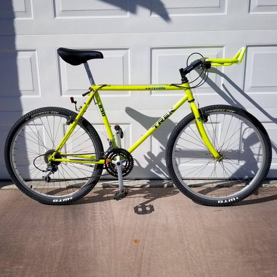 1991 Trek Antelope 830 Pedal Room