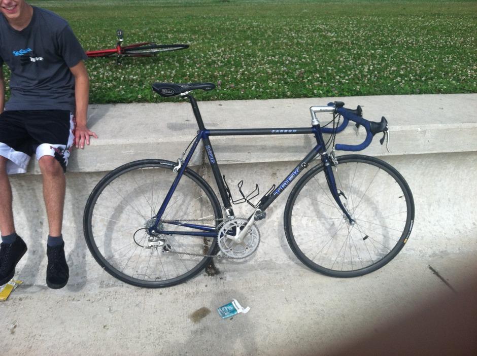 1994 Trek 2200 Pedal Room