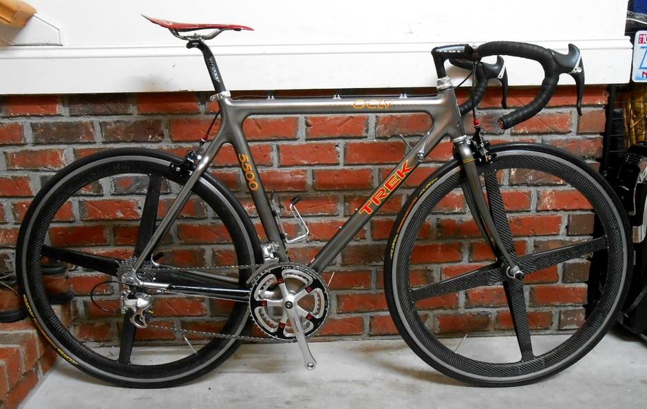 1995 Trek Oclv 5500 Pedal Room