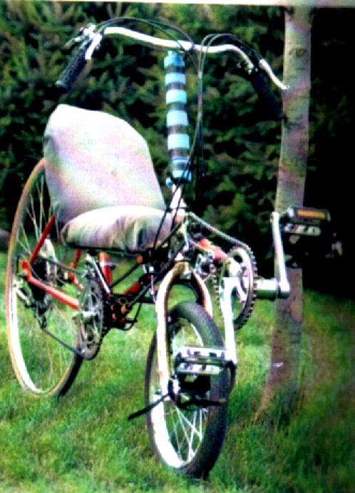 1996 Short Wheel Base Recumbent Pedal Room