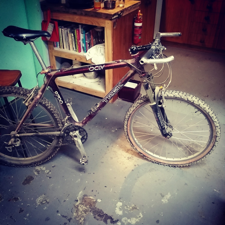 1996 Trek 9700 Oclv Pedal Room
