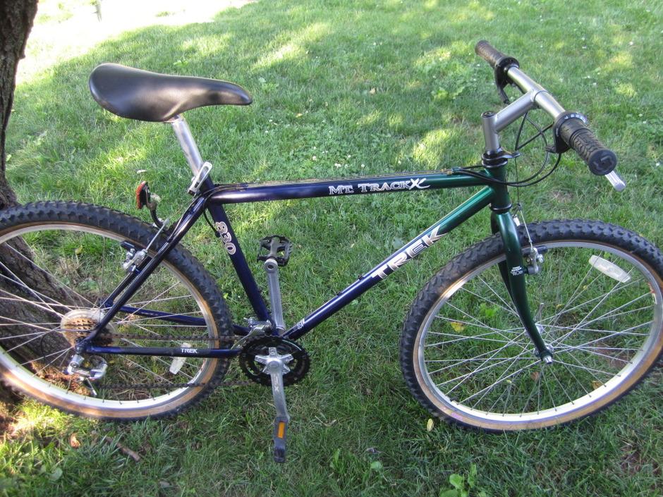 1996 Trek 830 Pedal Room
