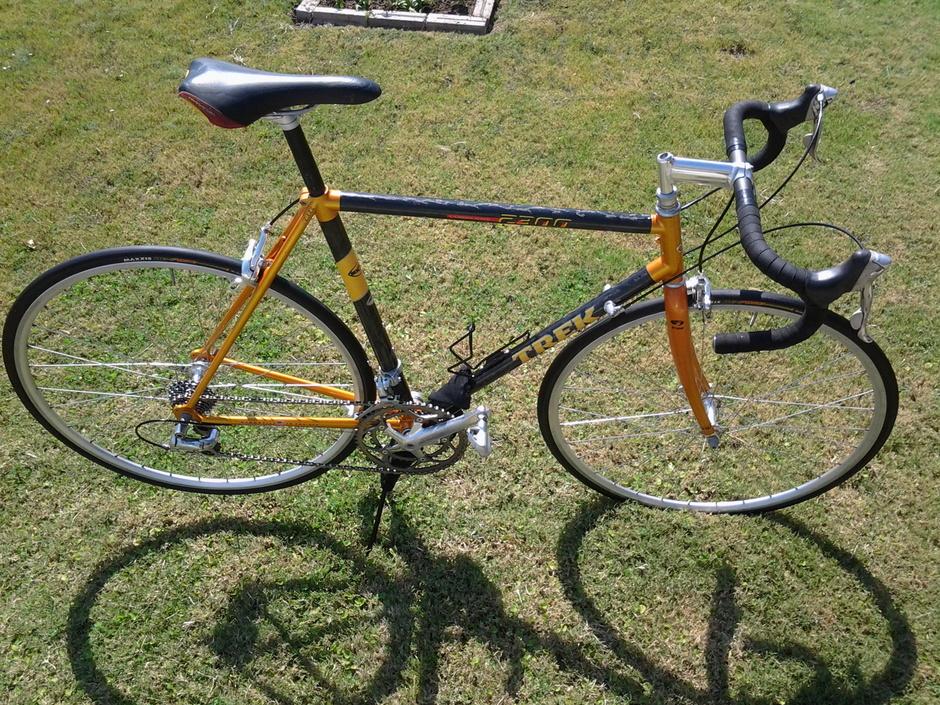 1997 Trek 2300 - Pedal Room