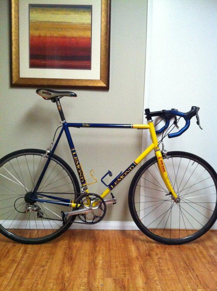 2001 Lemond Zurich Pedal Room
