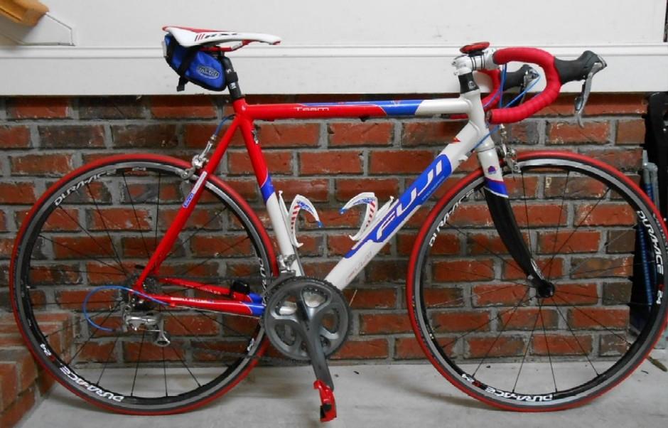 2003 Fuji Team Pro Pedal Room