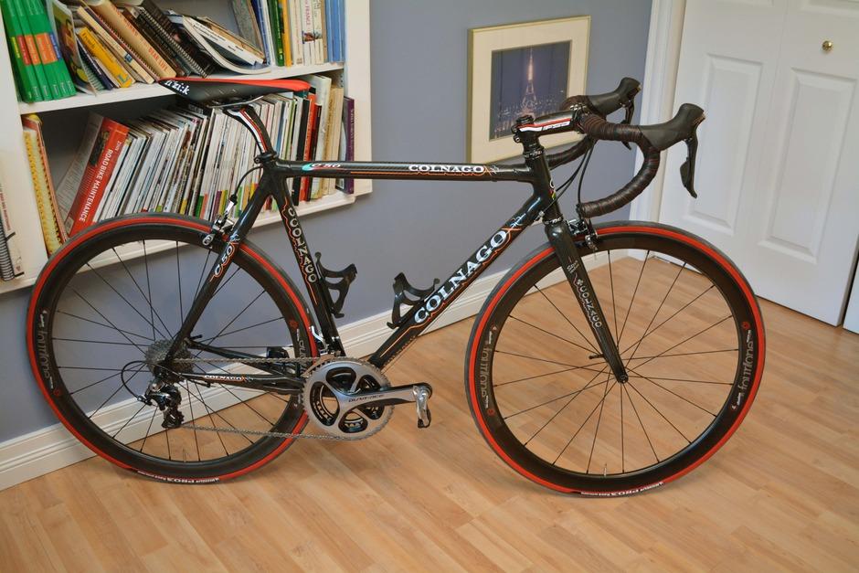 2005 Colnago C50 Pedal Room