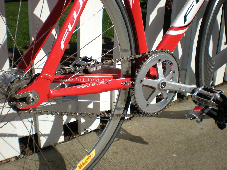 Wheel And Tire >> 2006 Fuji Track PRO - Pedal Room