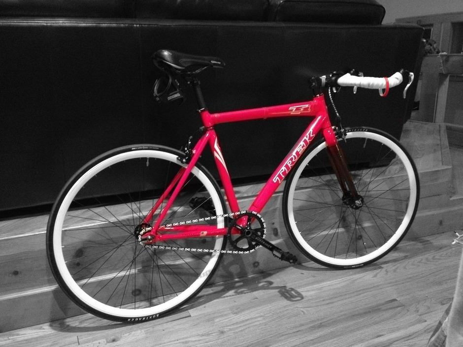 2009 Trek T1 Pedal Room