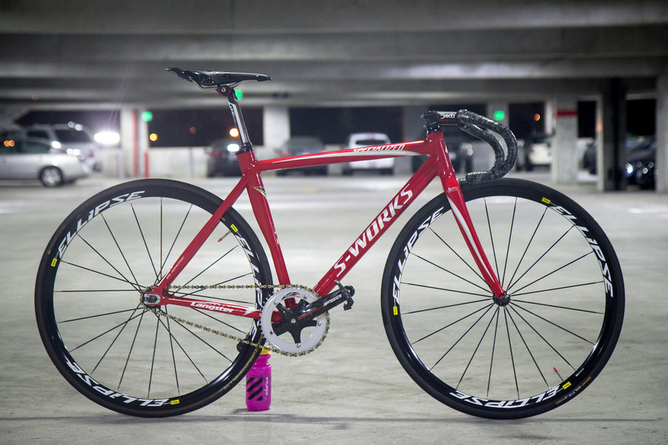 2010 Specialized S Works Langster Pedal Room