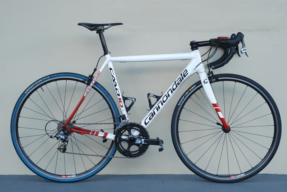Lightest Road Bike >> 2012 Cannondale CAAD 10 - Pedal Room