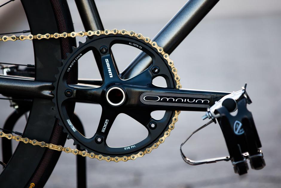 Mercier Kilo Tt Pro Pedal Room