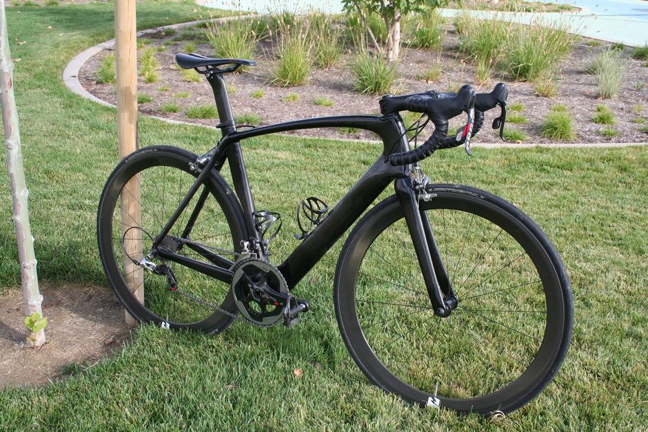 2012 S Works Venge Test Bike Pedal Room