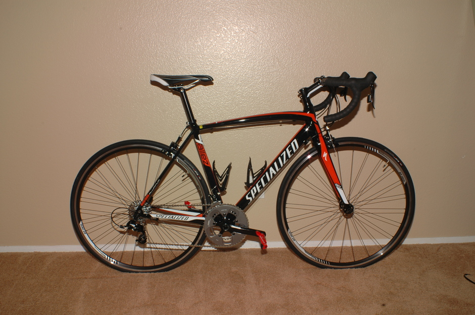 2012 Specialized Allez Pedal Room