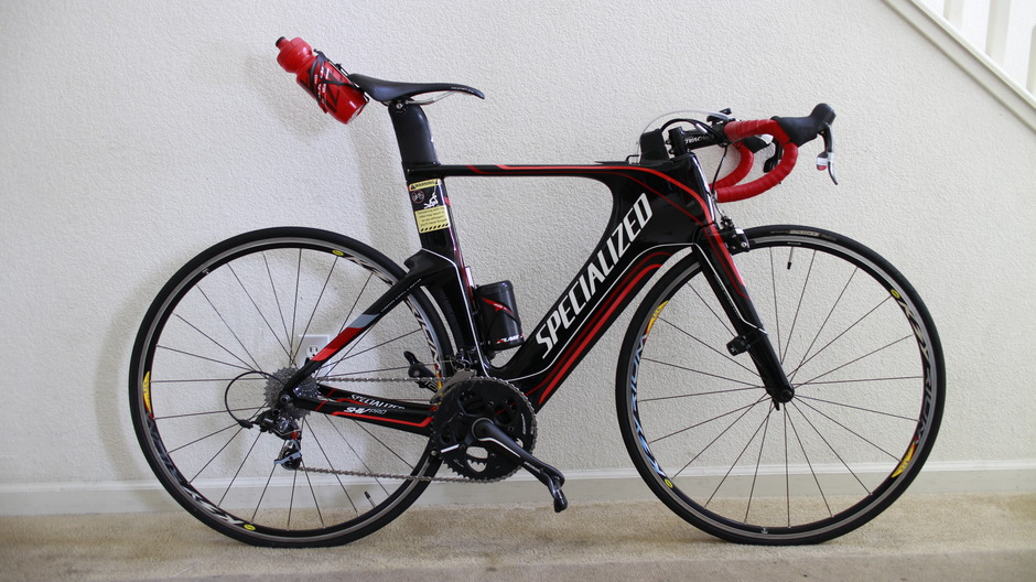 2012 Specialized Shiv Pro Pedal Room