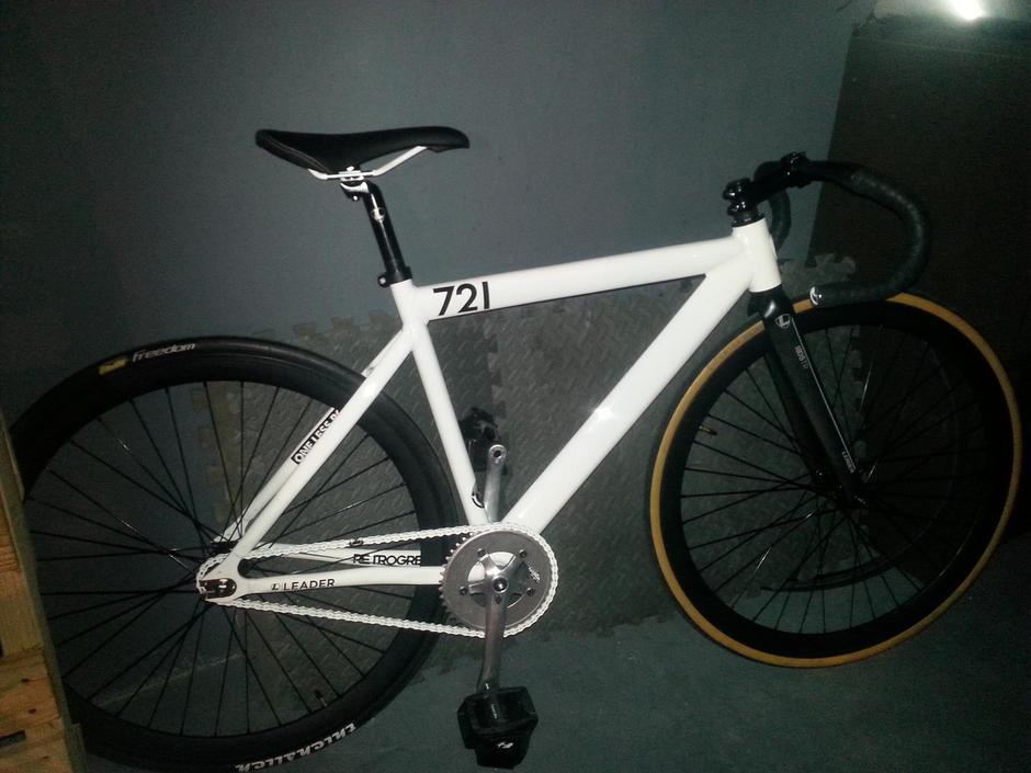 2013 White Leader 721 Pedal Room