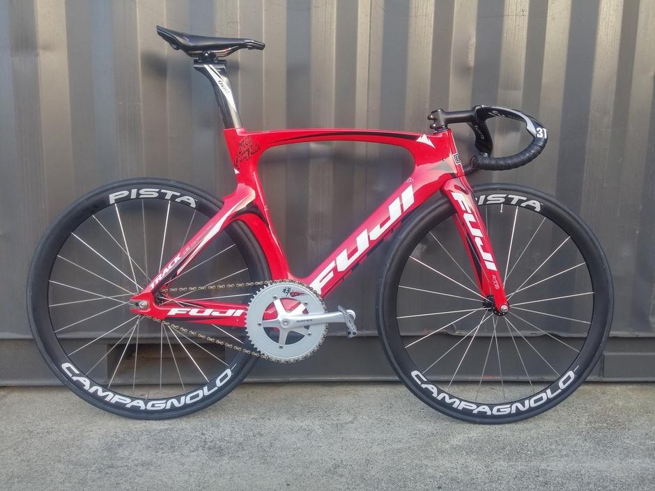 2014 Fuji Track Elite - Pedal Room