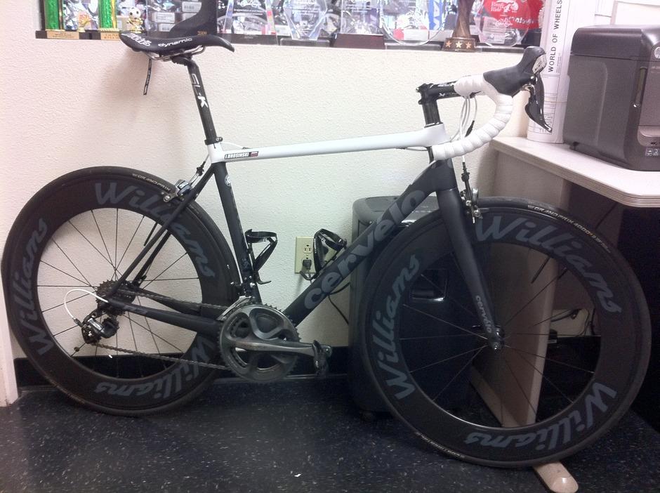2015 Cerv 233 Lo R3 Pedal Room