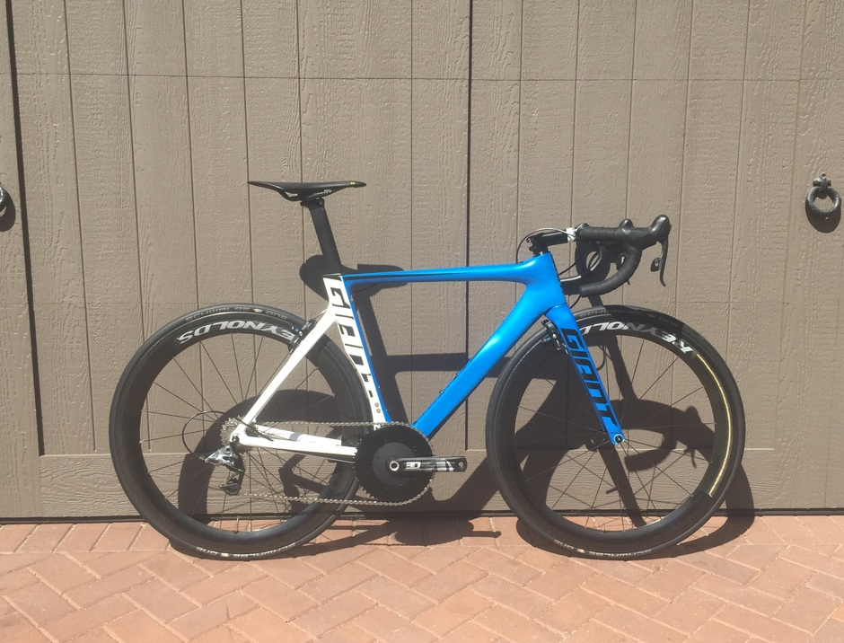 2015 giant propel advanced pro pedal room