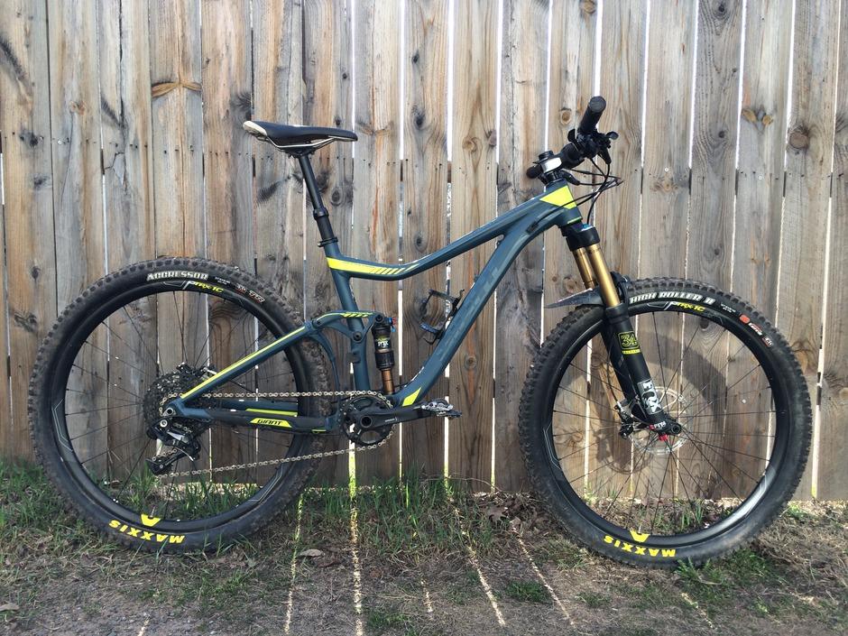2016 giant trance 1 pedal room Asheville NC Mountain Bike Guides Mountain Biking