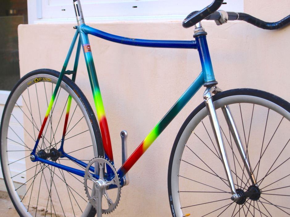 "70's French ""Disco"" Pursuit Bike"