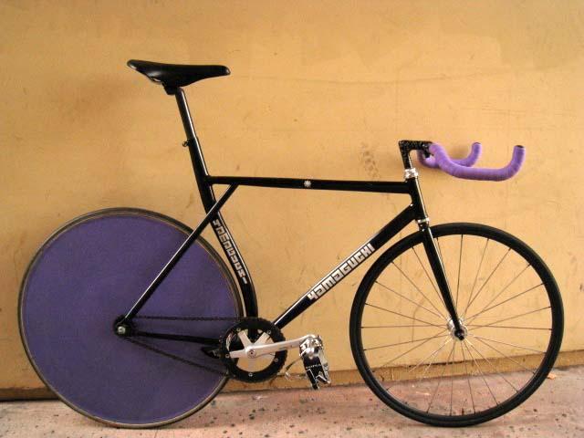 90 S Yamaguchi Pursuit Track Bike Pedal Room