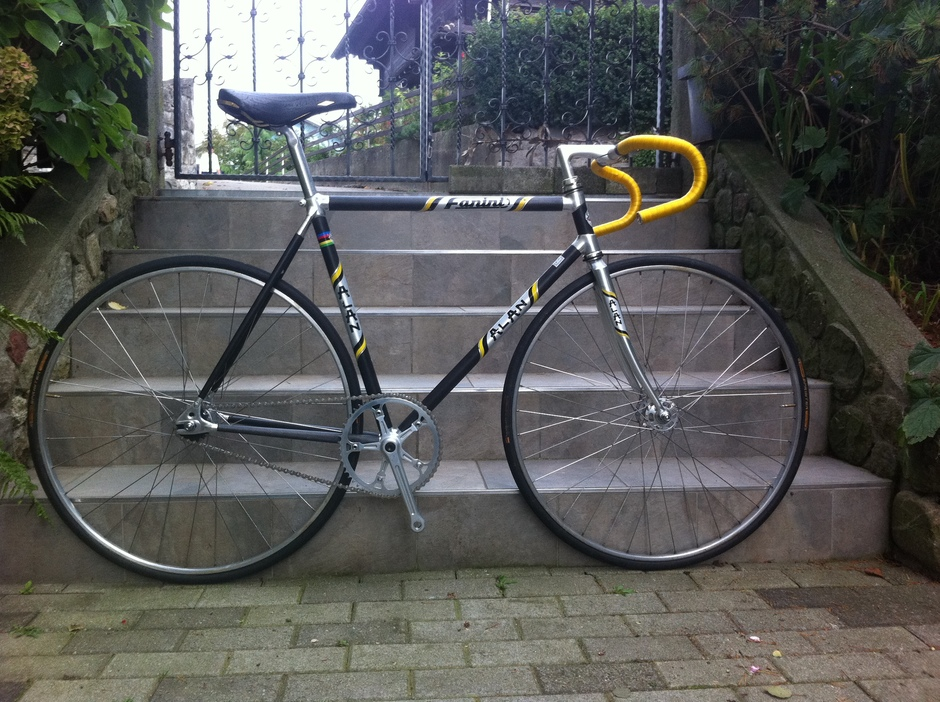 Fixed Gear Carbon Frame