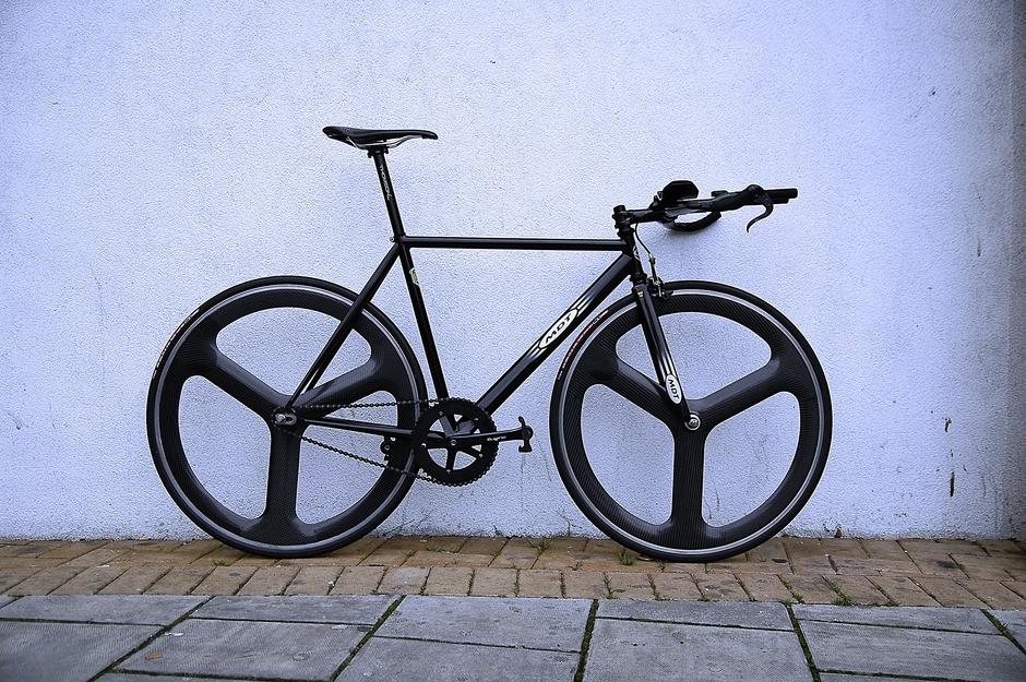 Argos Mdt 853 Fixed Gear Tt Bike Pedal Room