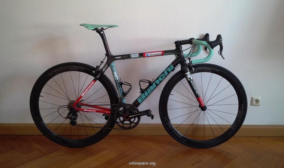 Power Meter Pedals >> Bianchi 928 SL Barloworld - Pedal Room