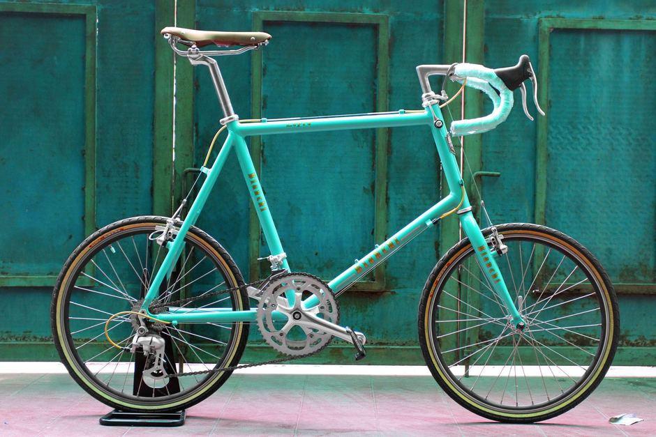 Bianchi Minivelo Lepre 8 Dropbar Pedal Room