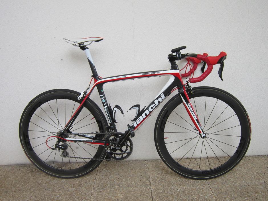 2011 Bianchi Sempre Training Bike Pedal Room