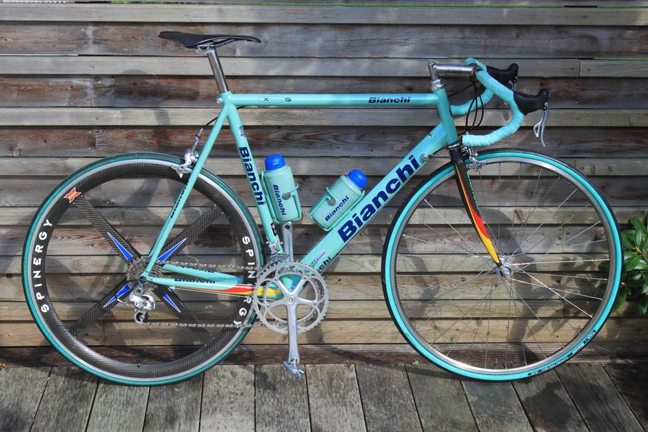 Fastest Road Bike >> Bianchi Titanium Megatube - Pedal Room