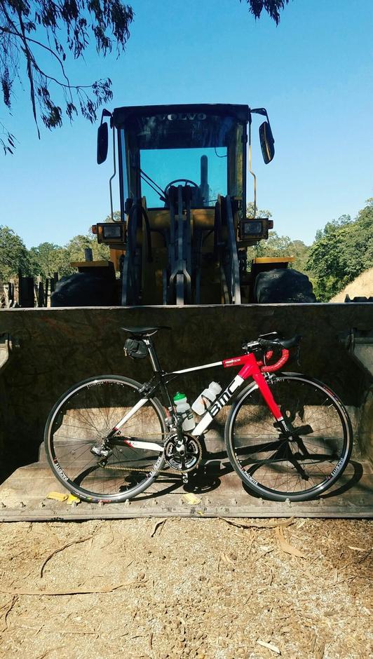 Bmc Sl01 Roadracer Pedal Room