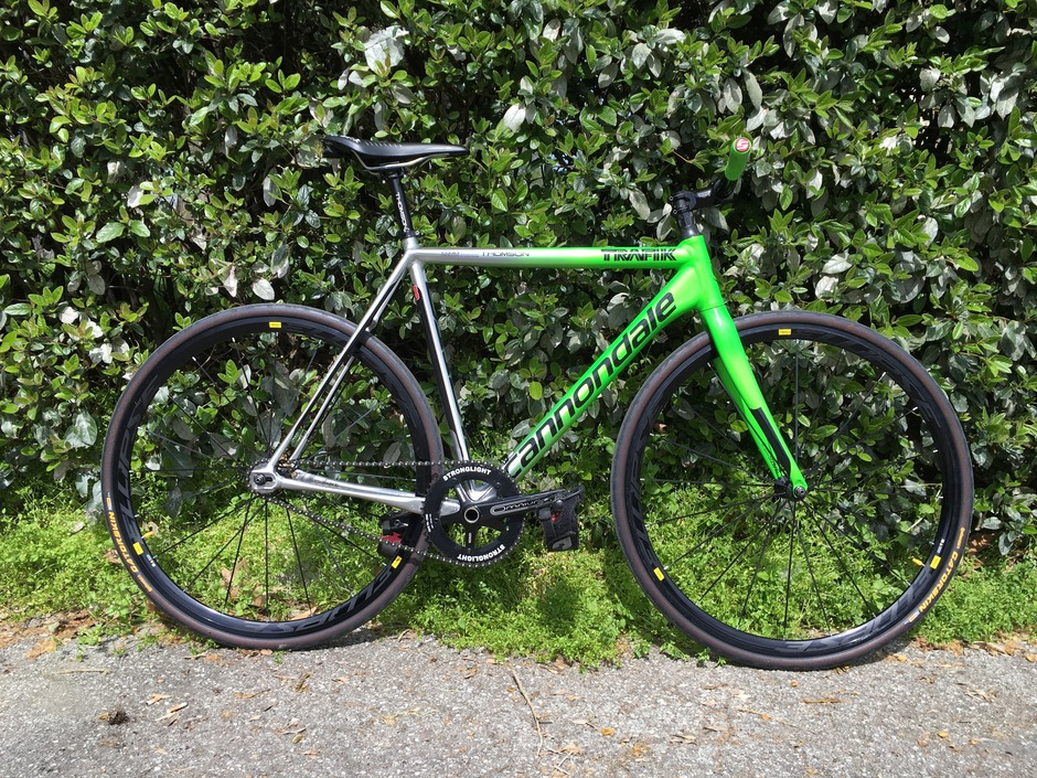 2015 Cannondale Track Quot Cannone Quot Pedal Room